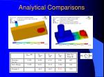 analytical comparisons