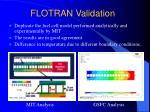 flotran validation