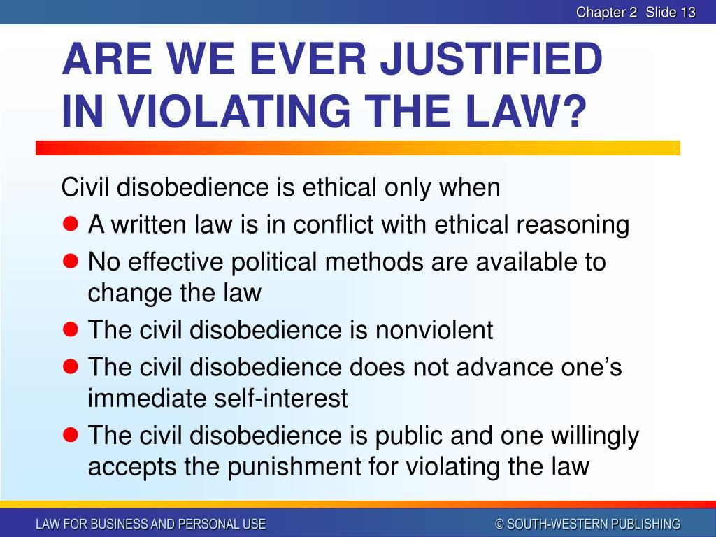 uncivil disobedience violating the rules for breaking the law Kim davis and the rise of right-wing civil disobedience if you were breaking the law or violating a almost all of the civil and uncivil disobedience of.