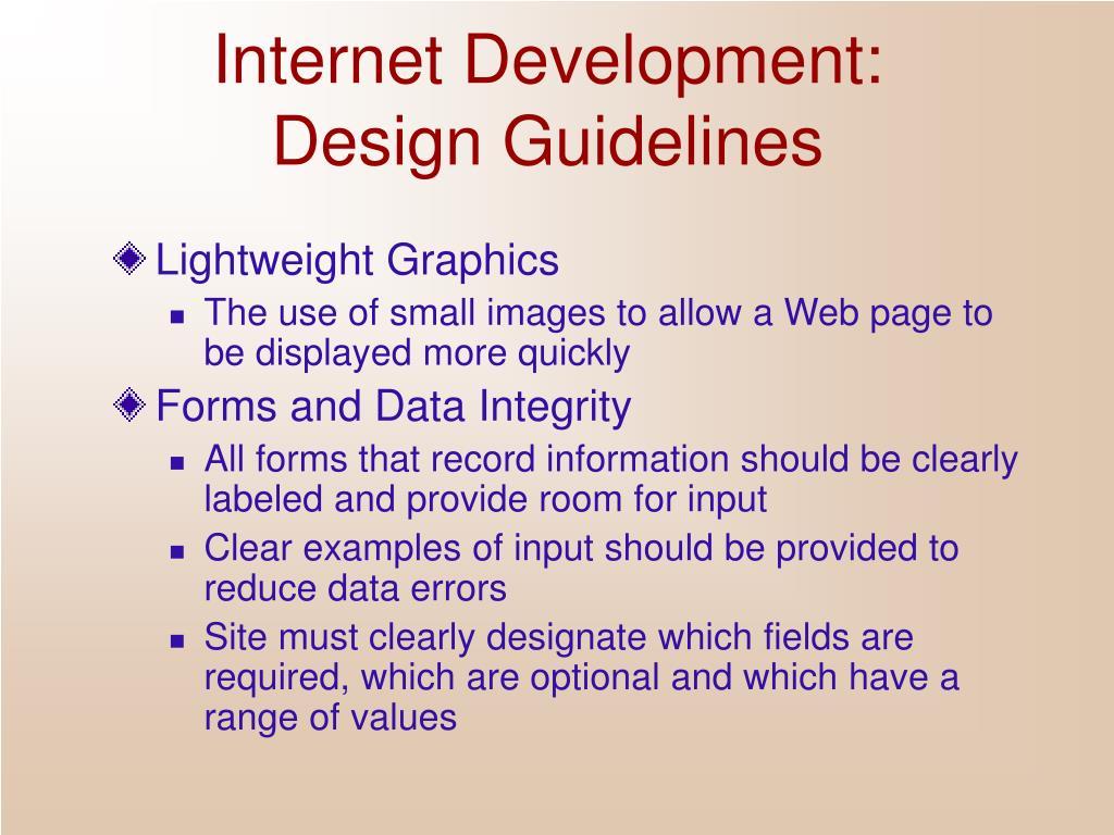 Internet Development: