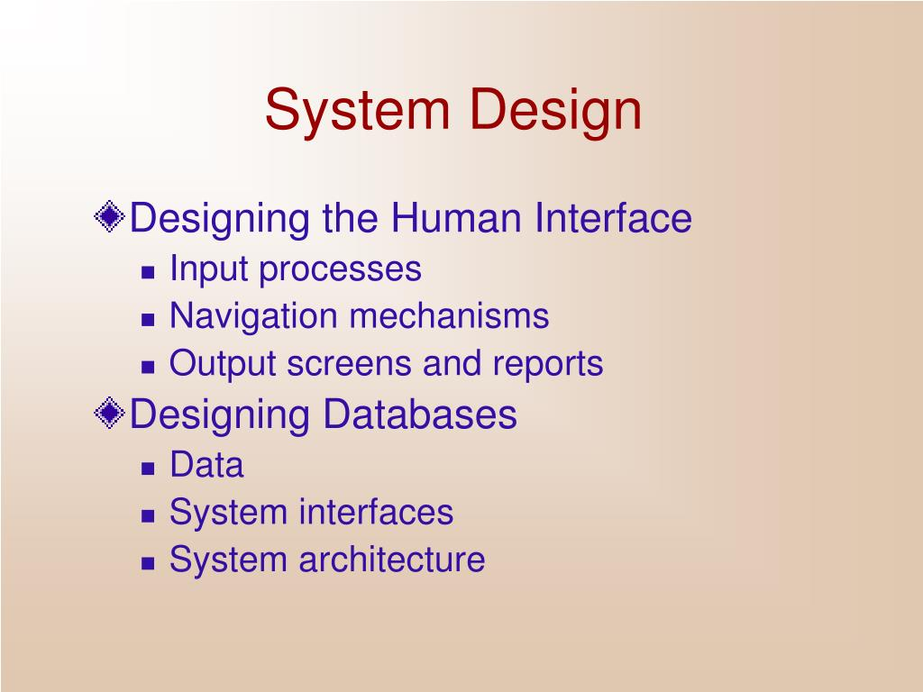 Ppt System Design Powerpoint Presentation Free Download Id 379511