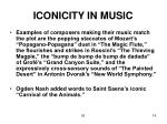 iconicity in music