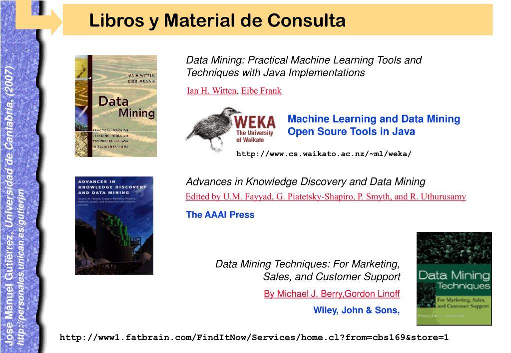 Libros y Material de Consulta