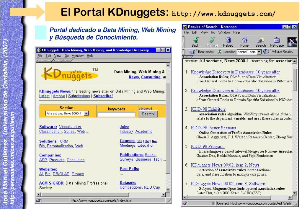 El Portal KDnuggets: