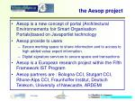 the aesop project