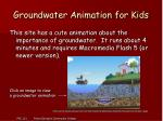 groundwater animation for kids