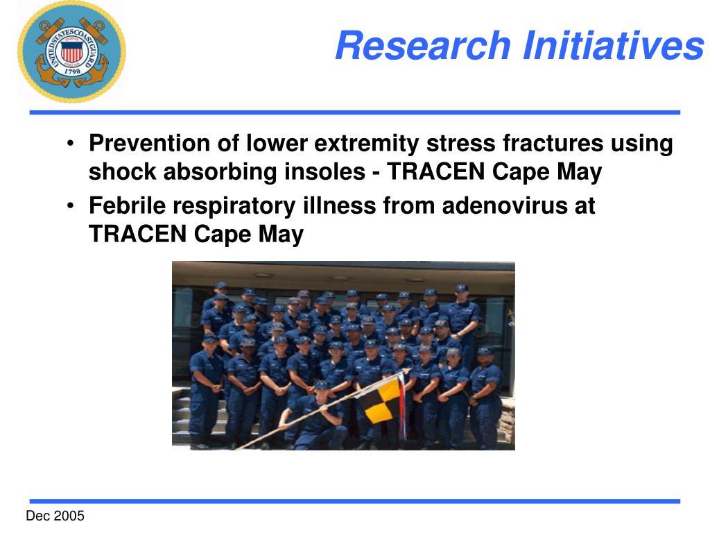 Research Initiatives