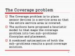 the coverage problem