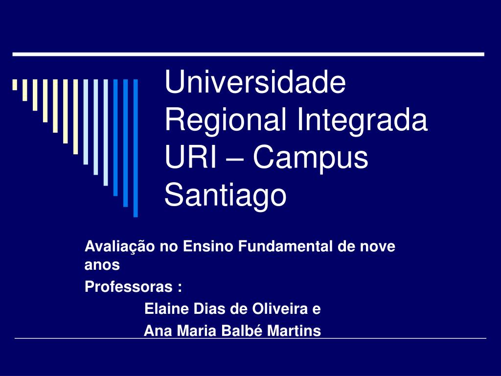 universidade regional integrada uri campus santiago