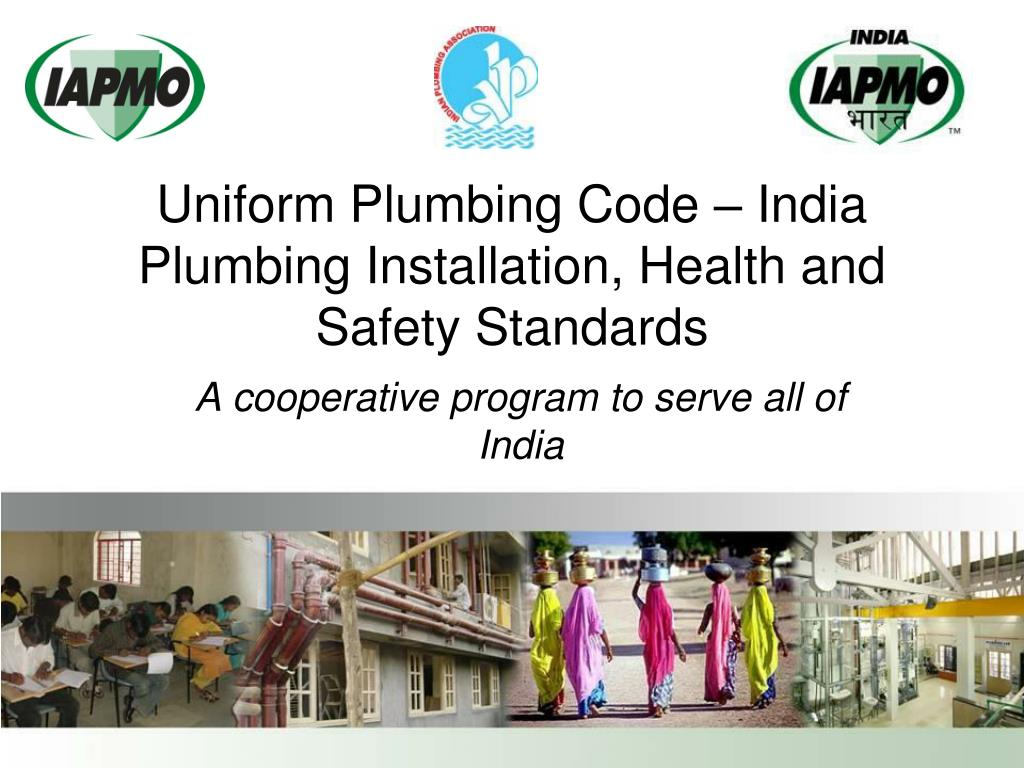 uniform plumbing code india plumbing installation health and safety standards l.