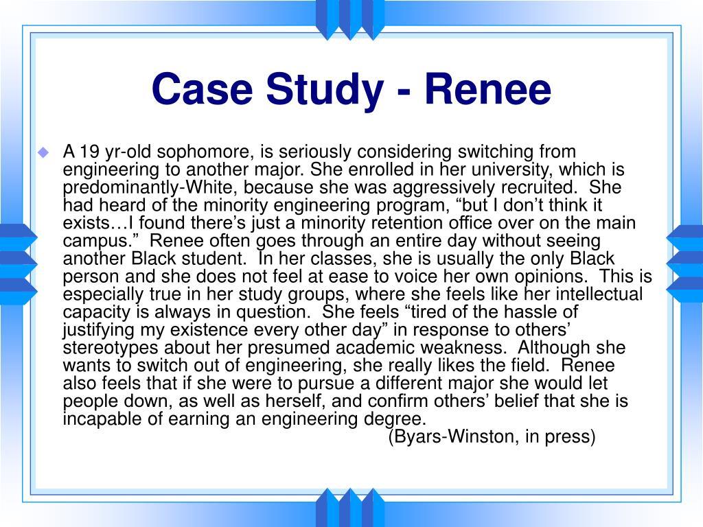 Case Study - Renee