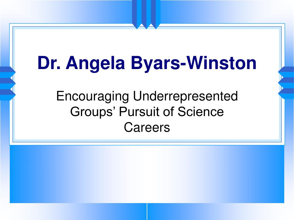 Dr. Angela Byars-Winston