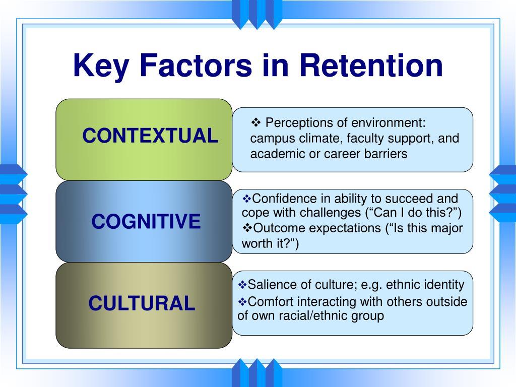 Key Factors in Retention