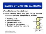 basics of machine guarding10
