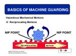 basics of machine guarding17