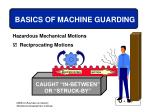 basics of machine guarding18