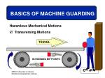 basics of machine guarding19
