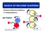 basics of machine guarding20