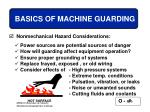 basics of machine guarding26