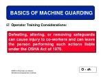 basics of machine guarding28