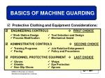 basics of machine guarding29