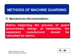 methods of machine guarding32