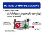 methods of machine guarding40