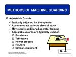 methods of machine guarding44