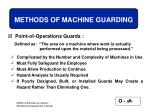methods of machine guarding65