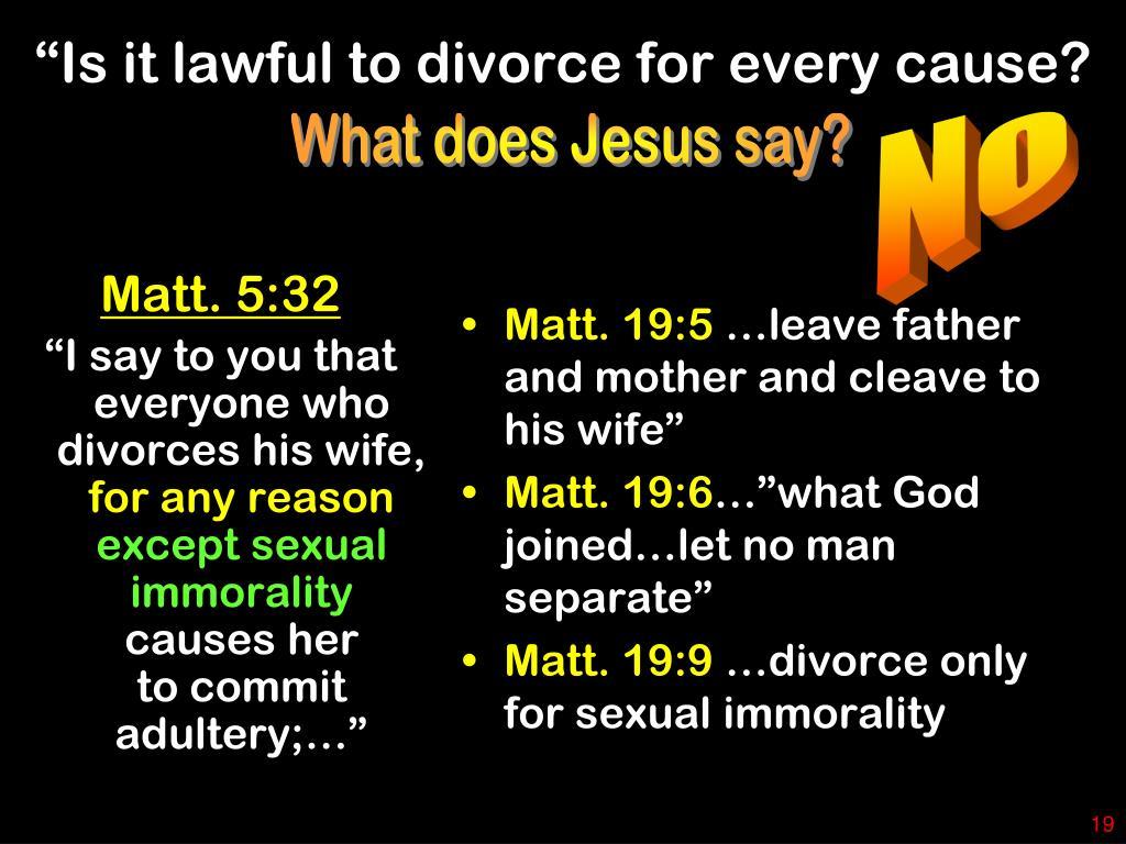 Matt. 5:32