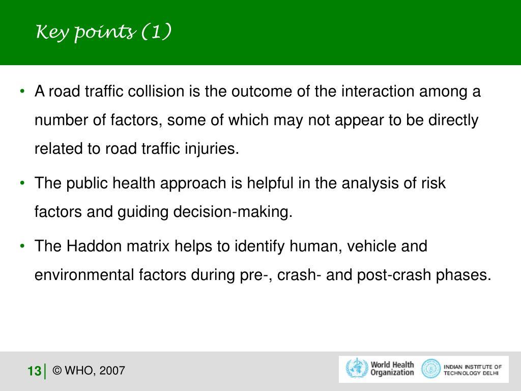 Key points (1)