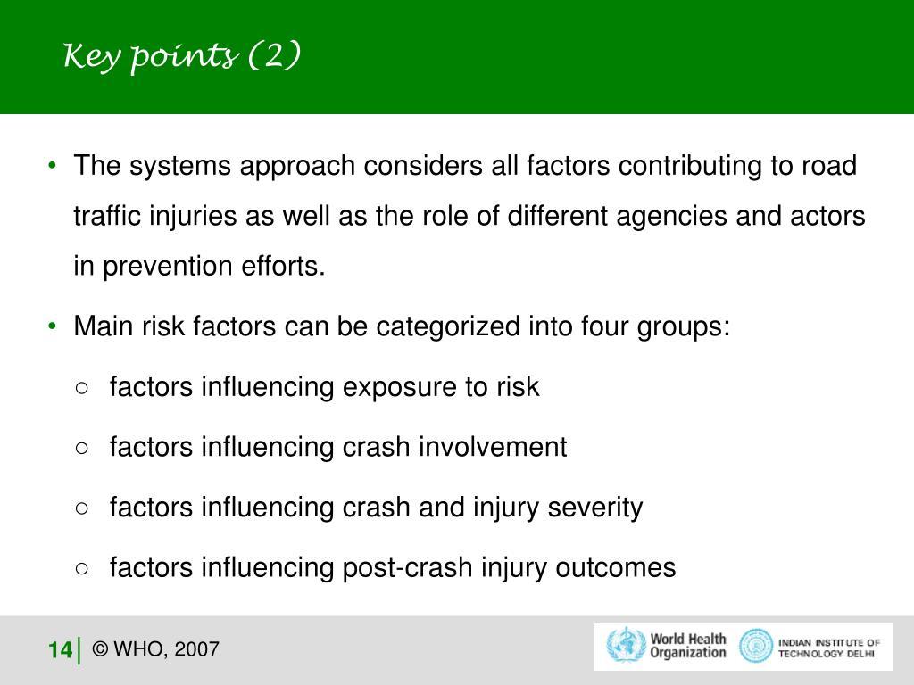 Key points (2)