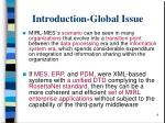 introduction global issue
