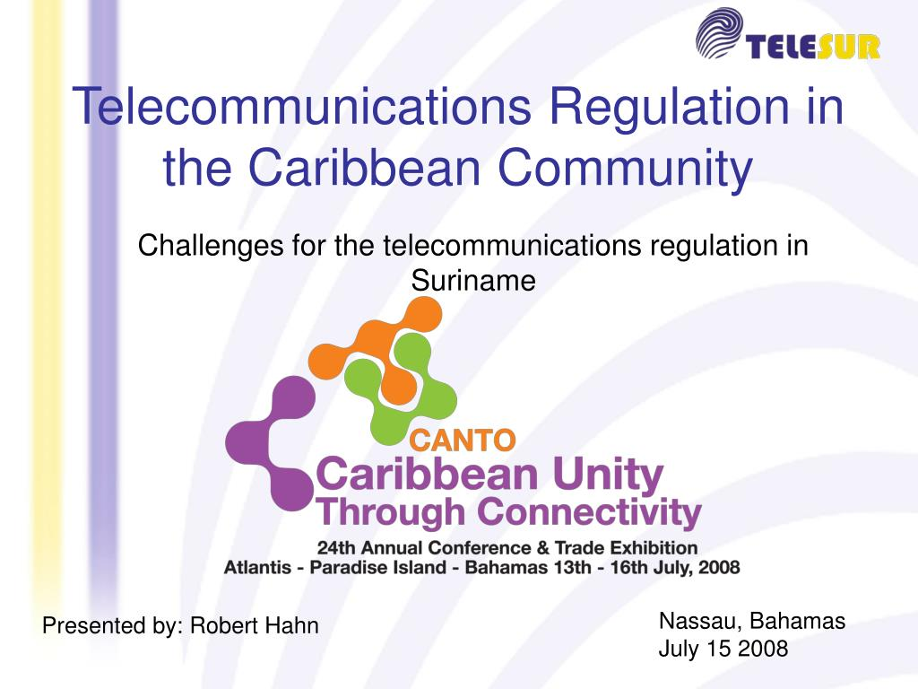 Telecommunications Regulation in the Caribbean Community