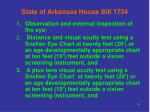 state of arkansas house bill 173439