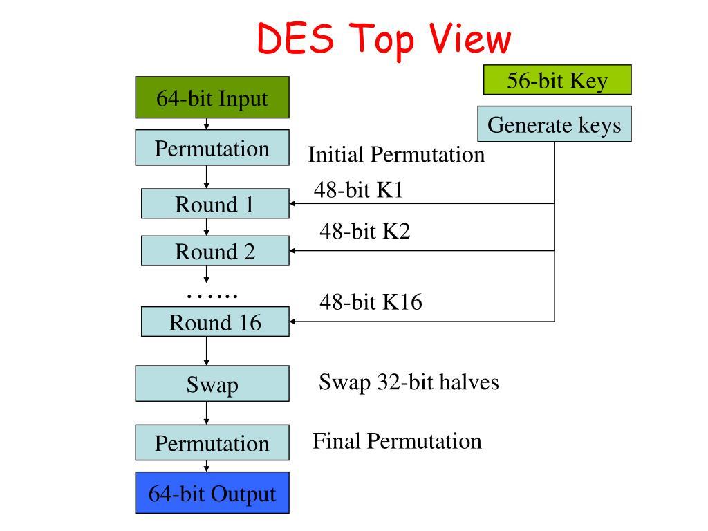 DES Top View