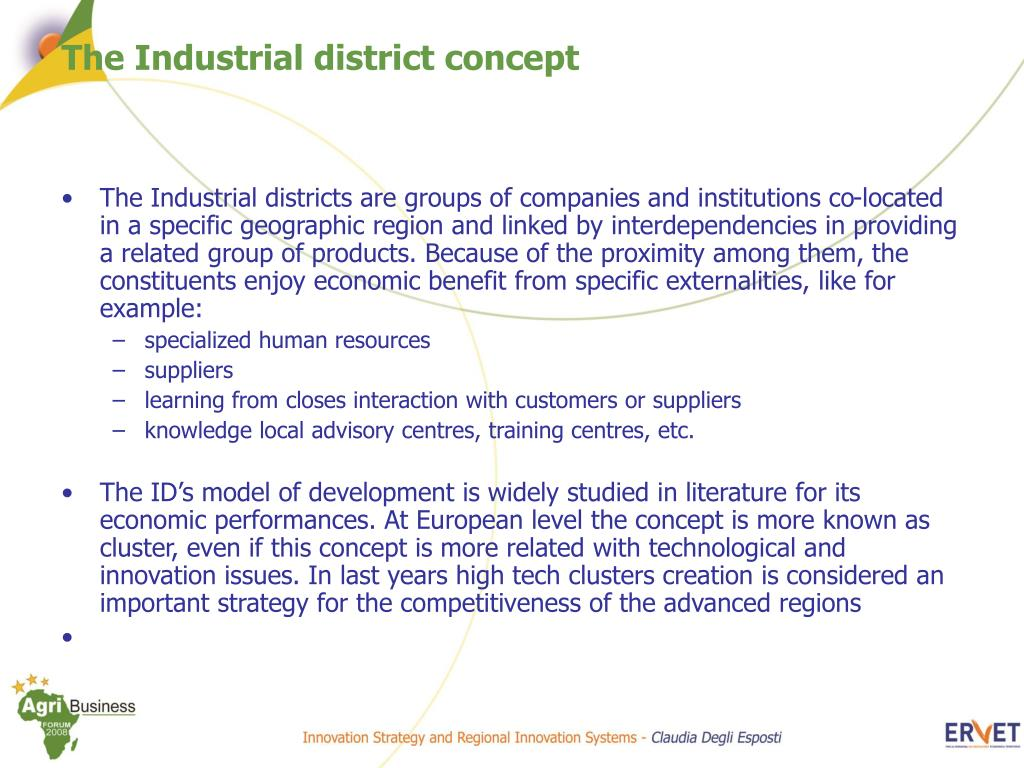 PPT - Innovation Strategy and Regional Innovation Systems The Agro