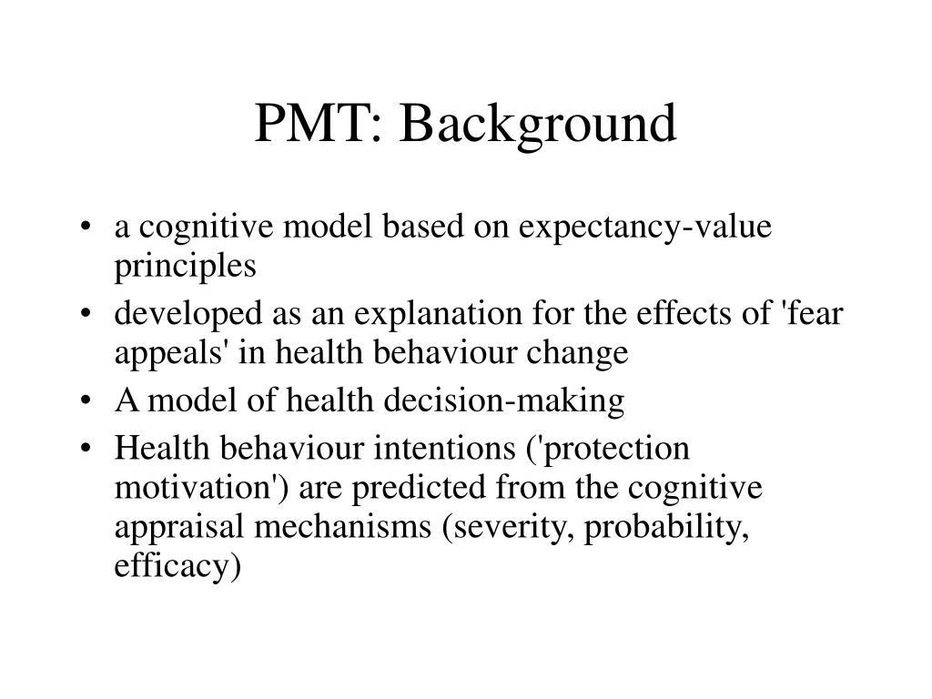 PMT: Background