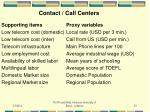 contact call centers
