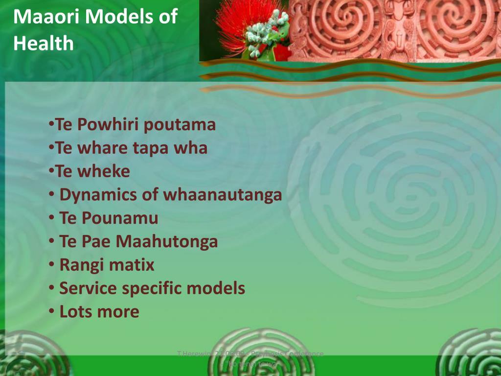 Maaori Models of Health