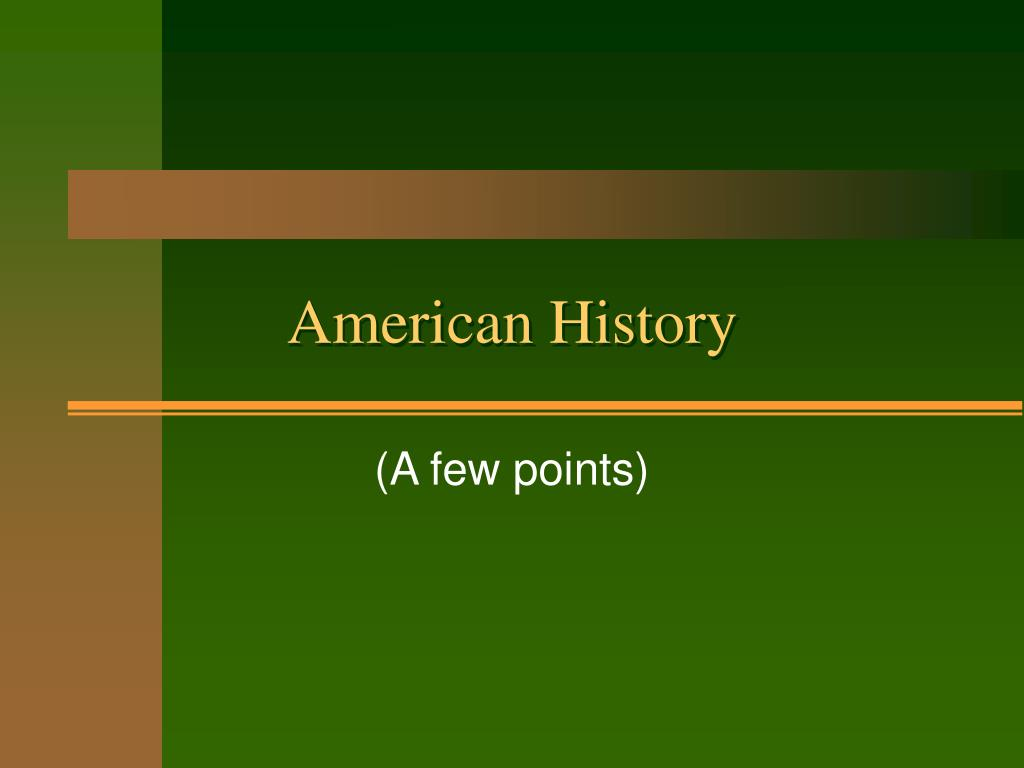american history l.