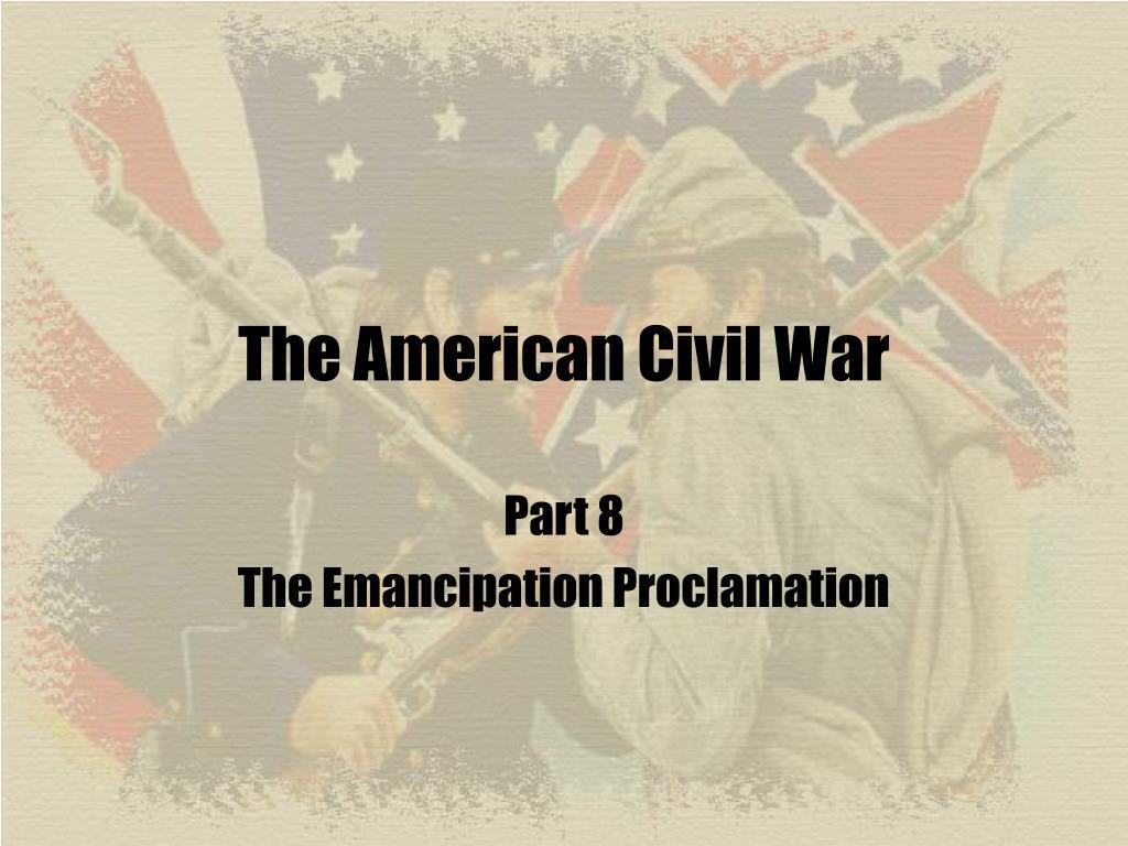the american civil war l.