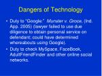 dangers of technology4