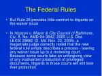 the federal rules80