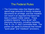 the federal rules84