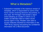 what is metadata8