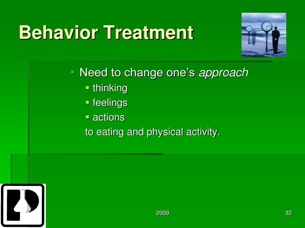 Behavior Treatment