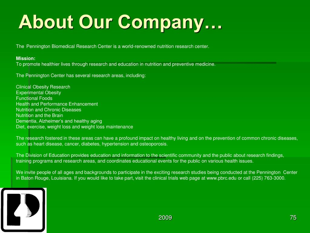 About Our Company…