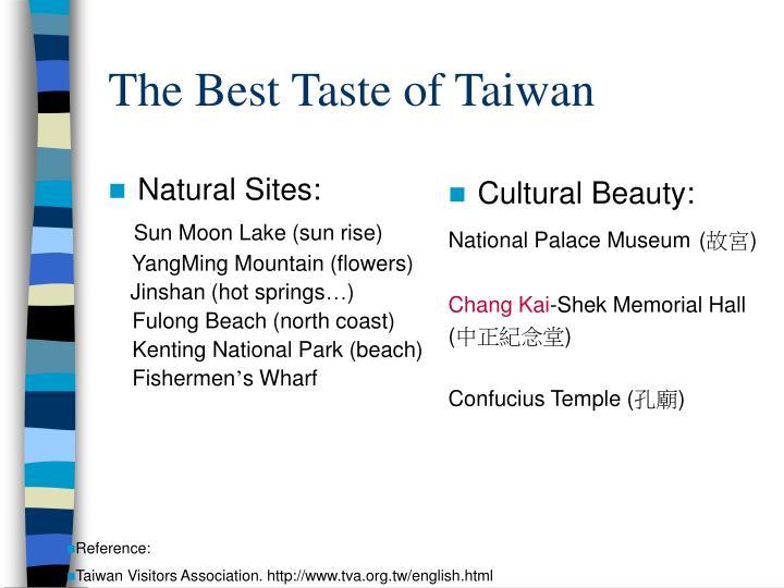 Natural Sites: