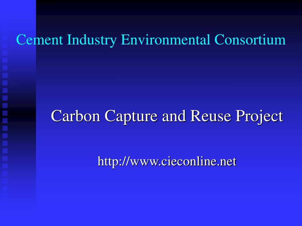 cement industry environmental consortium l.